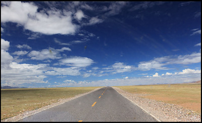 On the way to the shore of Lake Namtso