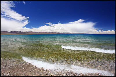 Waves, Lake Namtso