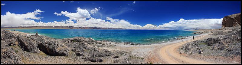 Lake Namtso Panorama