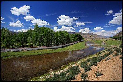 A small creek, Nyingchi, Tibet