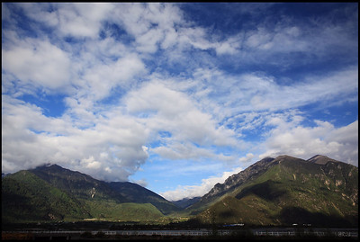 Mountains, Sky, and Clouds, Nyingchi