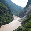 Tiger Leaping Gorge, China : This is the upper Yangize river below. Not much to shoot around here given about 30min to do it. No time to go down the stairs. Very harsh light.
