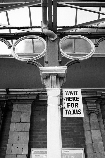 Wait Here For Taxis