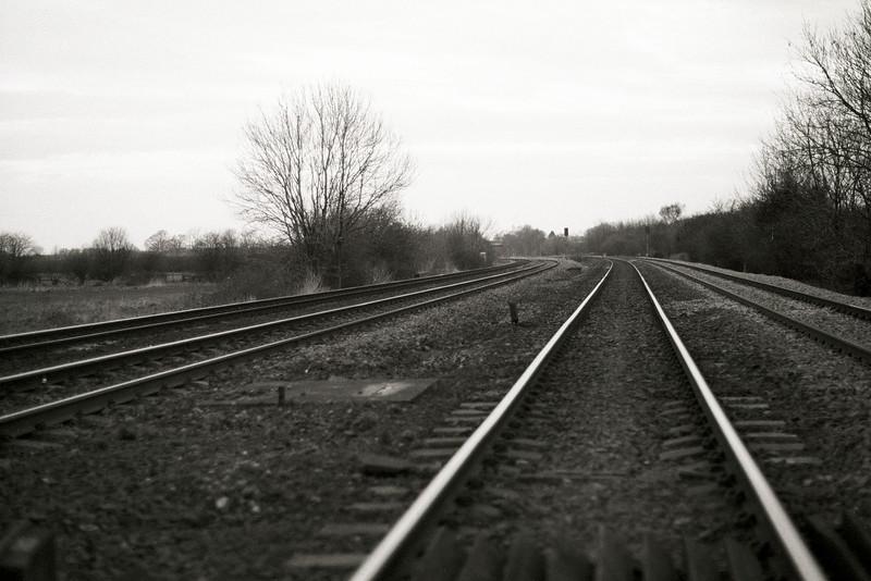 Rails at Hillam Gates