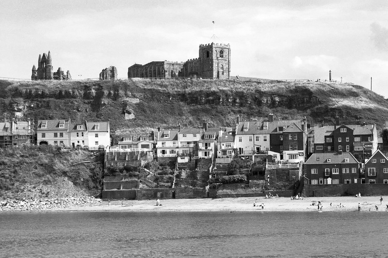 Whitby Water Front & Abbey