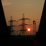 Ferrybridge Power Station Sunset