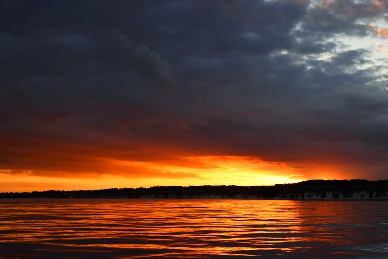 Flamborough Sunset