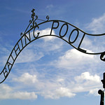 Penzance Bathing Pool Ironwork