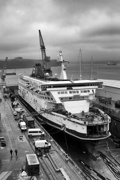Pride of Dover in Falmouth Dock, 26-3-2006 (IMG_5064) Nik SEP2 - Full Dynamic Harsh 4k