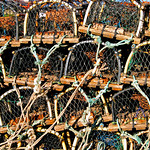 Crab Pots,  Whitby