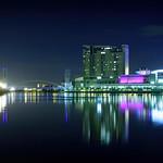 Salford Quays Lifting Bridge, Imperial Wharf & Quays Outlet
