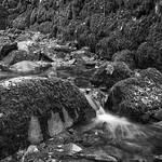 Kennall Vale Water over Rocks, 11-11-2006 (IMG_0873) Nik SEP2 - Wet Rocks 4k