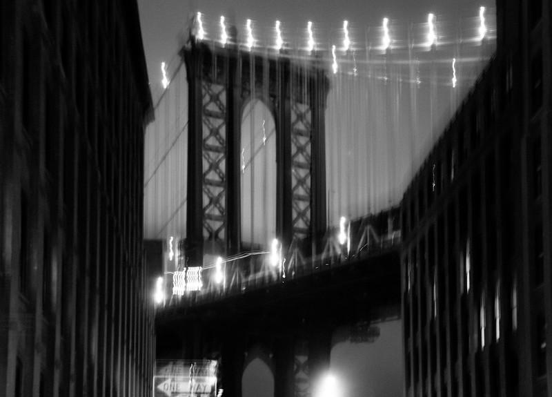 Manhattan Bridge, 19-11-2007 (IMG_1339) B&W 4k
