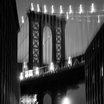 Manhattan Bridge, 19-11-2007 (IMG_1339) B&W 4k