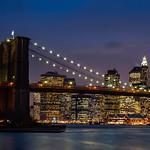 New York - Brooklyn Bridge and Skyline, 19-11-2007 (IMG_1217) 4k