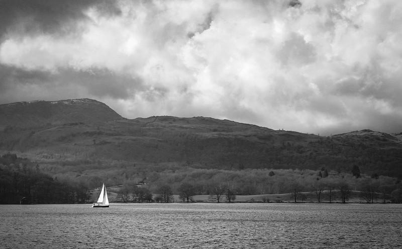 Lake Windermere Sailing Boat