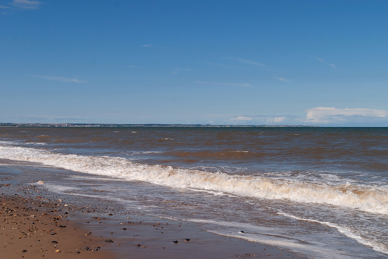 Flamborough Head from Ulrome Beach