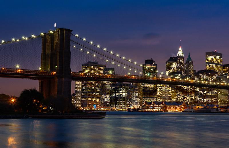 New York - Brooklyn Bridge & Skyline, 19-11-2007 (IMG_1217) 4k