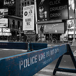 Police Lines Do Not Cross, Times Square, 18-11-2007 (IMG_0992) Mix 4k