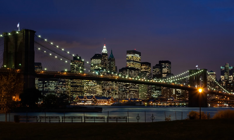 New York - Brooklyn Bridge & Skyline, 19-11-2007 (IMG_1219) 4k