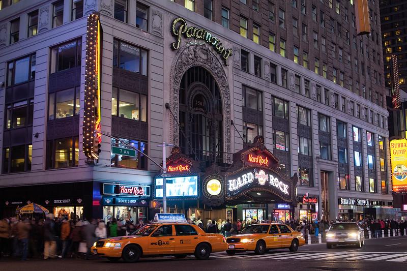 Hard Rock Cafe, Broadway, New York City