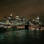 New York - Brooklyn Bridge & Skyline from Manhattan Bridge, 19-11-2007 (IMG_1249) Nik AEP2 Film Type Warm 4k