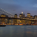 New York - Brooklyn Bridge & Skyline, 19-11-2007 (IMG_1209) Merge with IMG 1208 4k