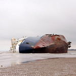 The Wreck of The MS Riverdance at Thornton Cleveleys