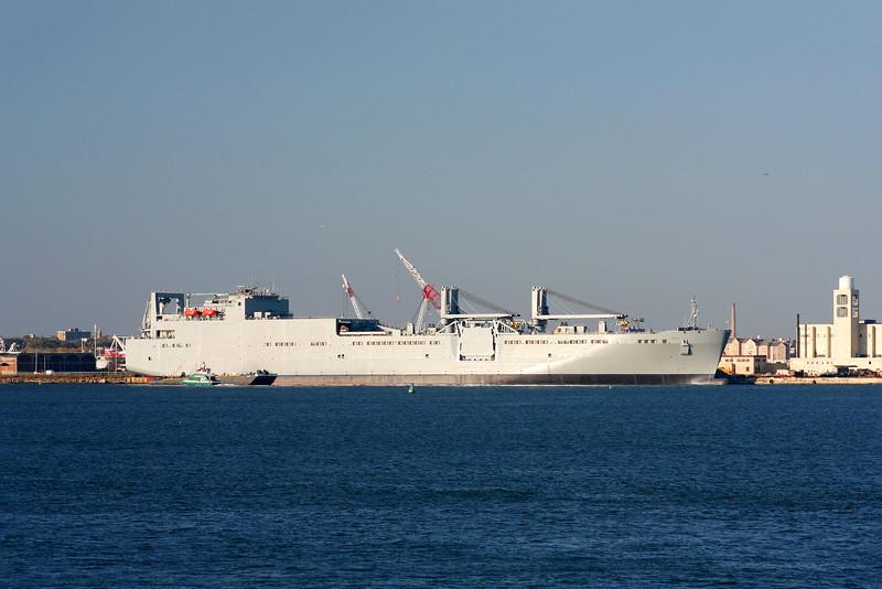 USNS Watson at Bayonne Port, NJ