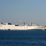 USNS Watson at Bayonne Port, NJ