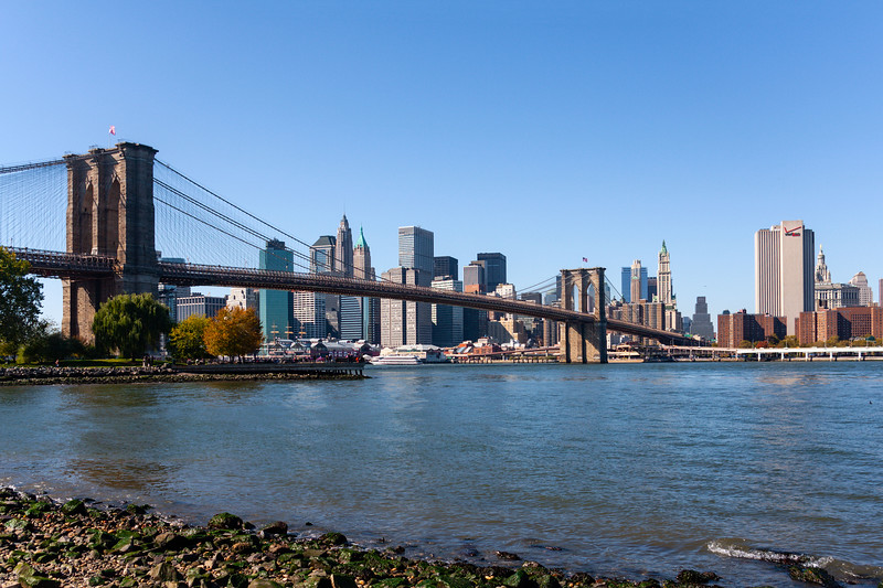 New York - Brooklyn Bridge & Skyline, 26-10-2008 (IMG_2811) 4k