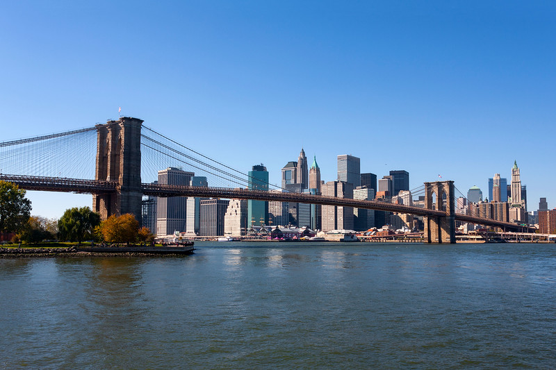 New York - Brooklyn Bridge & Skyline, 26-10-2008 (IMG_2816) 4k