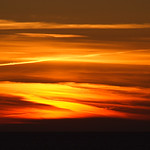 Firey Sky at Pentire Sunset