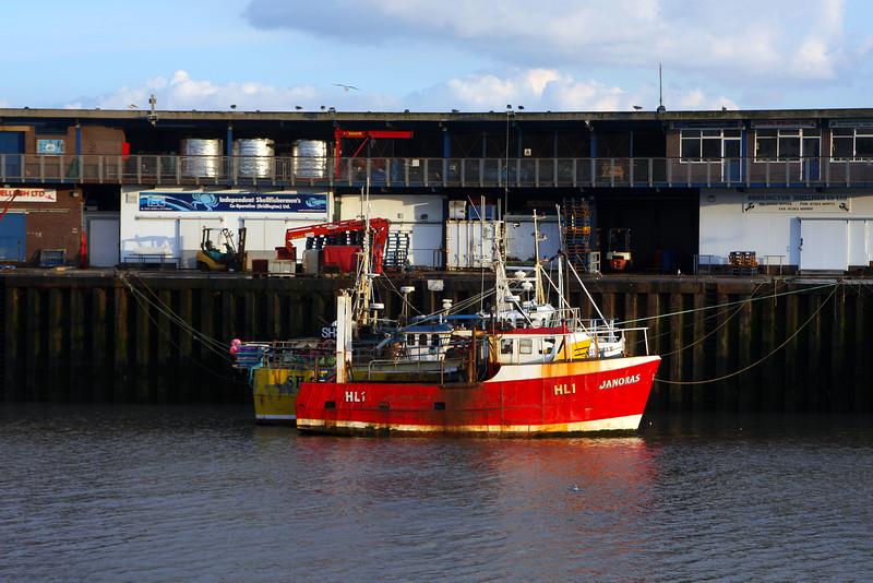 Janoras at Bridlington Harbour