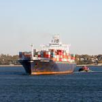 Cosco Bremerhaven at New York