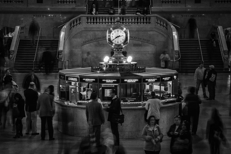 New York - Grand Central Station, Clock, 27-10-2008 (IMG_3093) 4k
