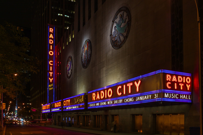 New York - Radio City Music Hall, West 50th Street, 27-10-2008 (IMG_3259) 4k