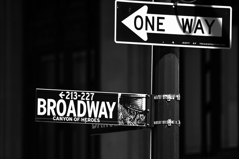 Broadway Signs
