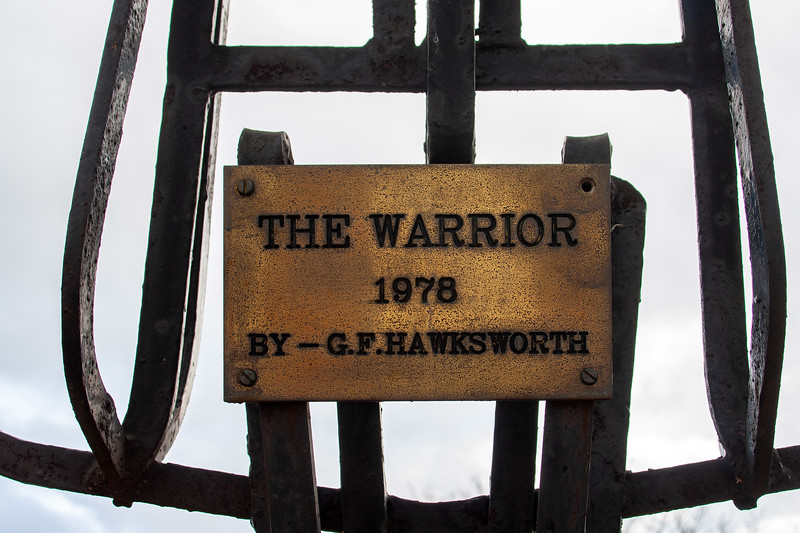 The Warrior (Whitwood Technical College Grounds)