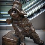 Paddington Bear at Paddington Station