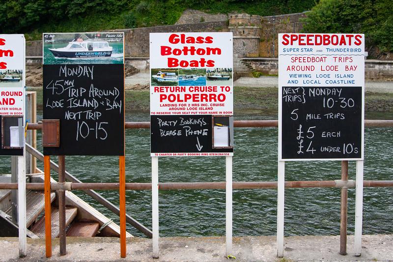Looe Harbour Boat Trips