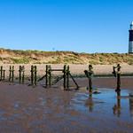 Spurn Point Lighthouse & Groynes