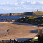 View of Dunstanburgh Castle & Embleton Bay from Low Newton-by-the-Sea