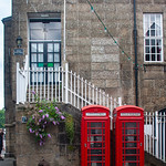 Fowey Town Hall Phone Boxes