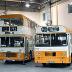 Buses at Museum of Museums, Manchester