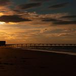 Saltburn Pier Sunset & Silhouette, 11-8-2010 (IMG_3673) 4k