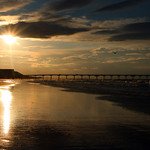 Saltburn Beach, Sunset Hour