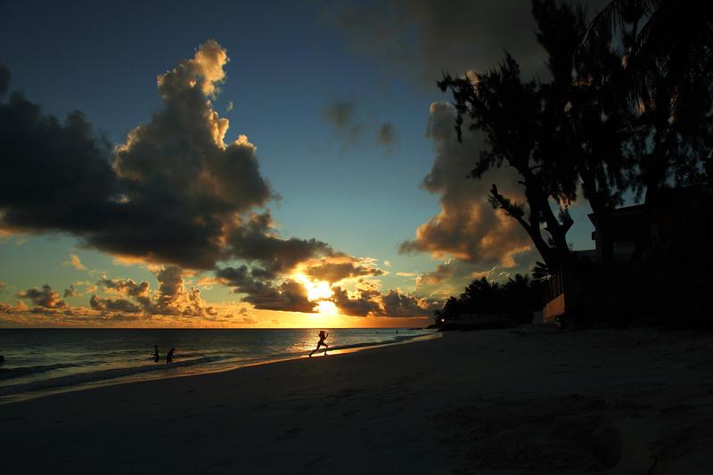 Sunset at Maxwell Beach, Barbados