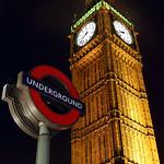 Westminster Underground & Parliament Clock