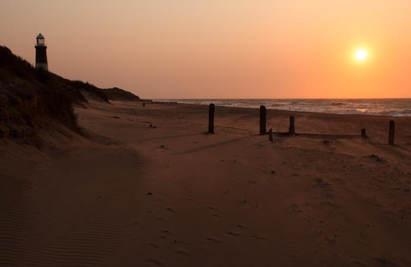 Sunrise at Spurn Point